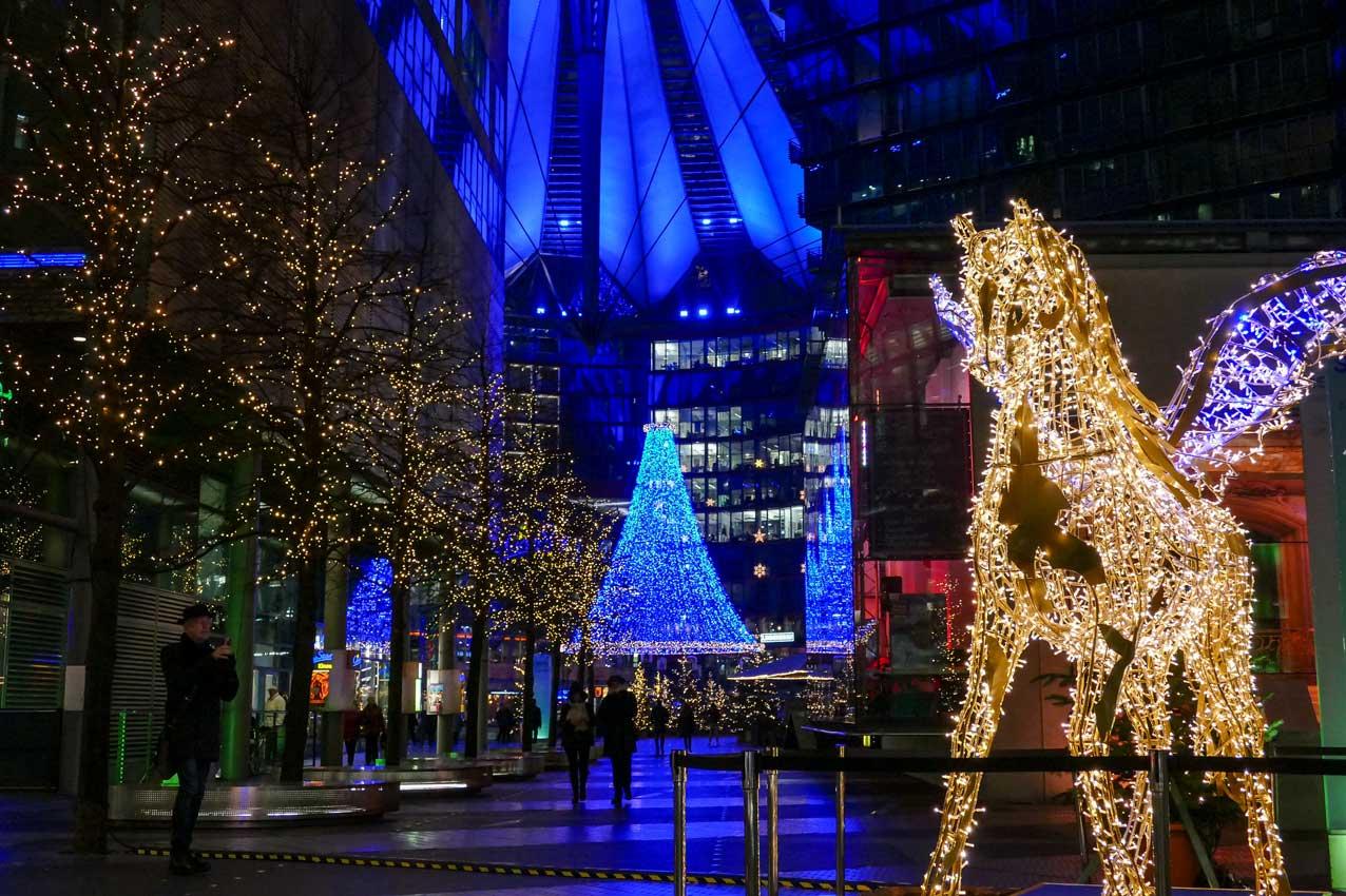 Brilliante weihnachten im sony center mediapool - Lightbox weihnachten ...