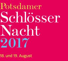 Logo Potsdamer Schlössernacht.