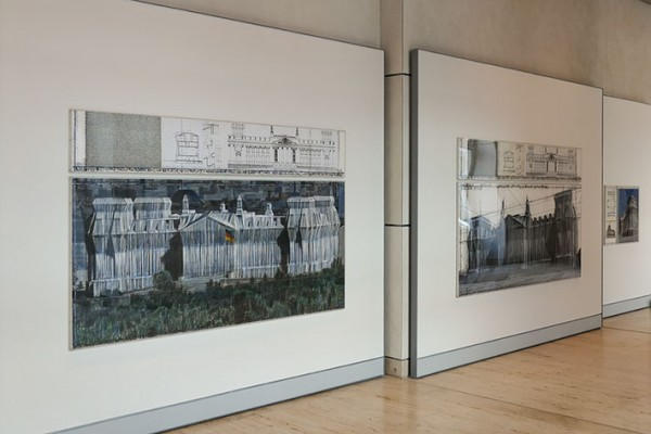 Christo–Dauerausstellung im Reichstagsgebäude