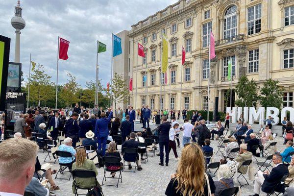 Festakt zur Eröffnung des Humboldt Forums