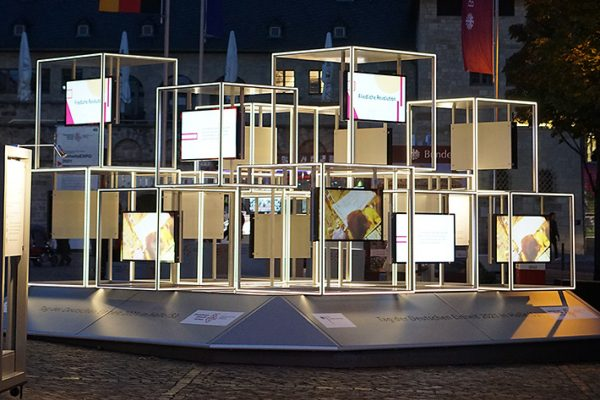 Einheits-Expo 2021 in Halle (Saale)